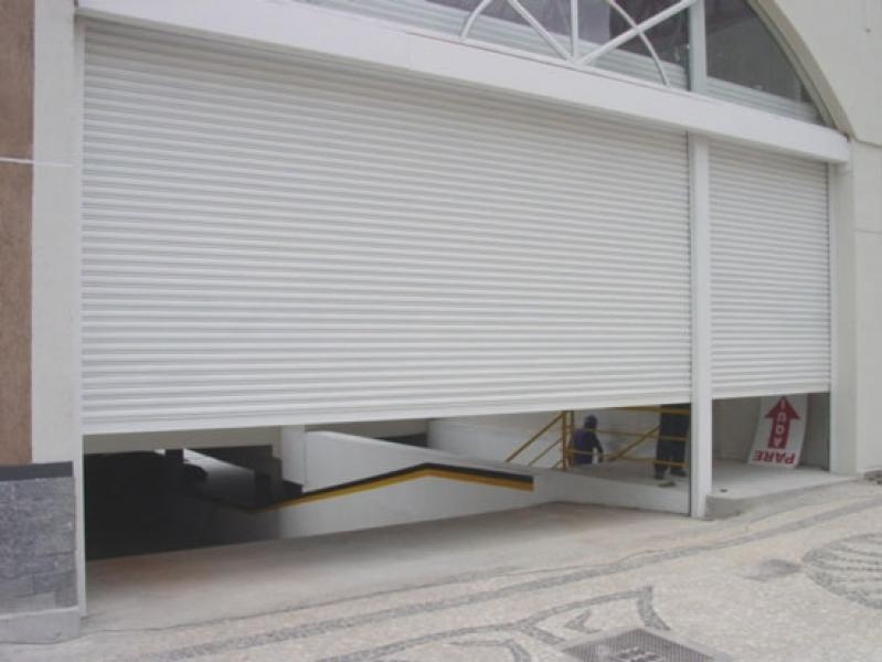 Onde Vende Porta de Garagem de Enrolar Osasco - Porta Metálica de Enrolar