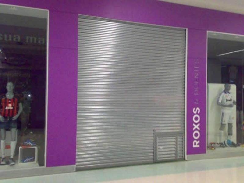 Porta de Loja de Enrolar Faria Lima - Porta de Enrolar Alumínio