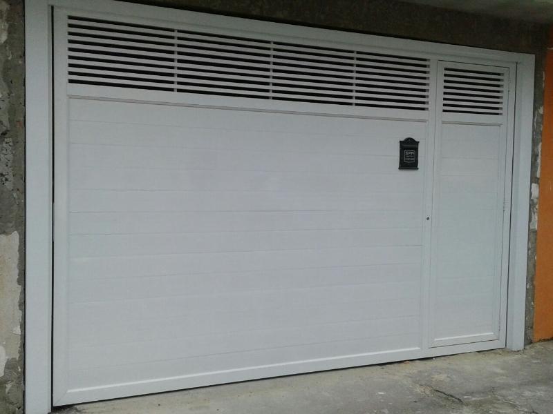 Portão Automático Branco Jockey Club - Portão de Garagem Automático