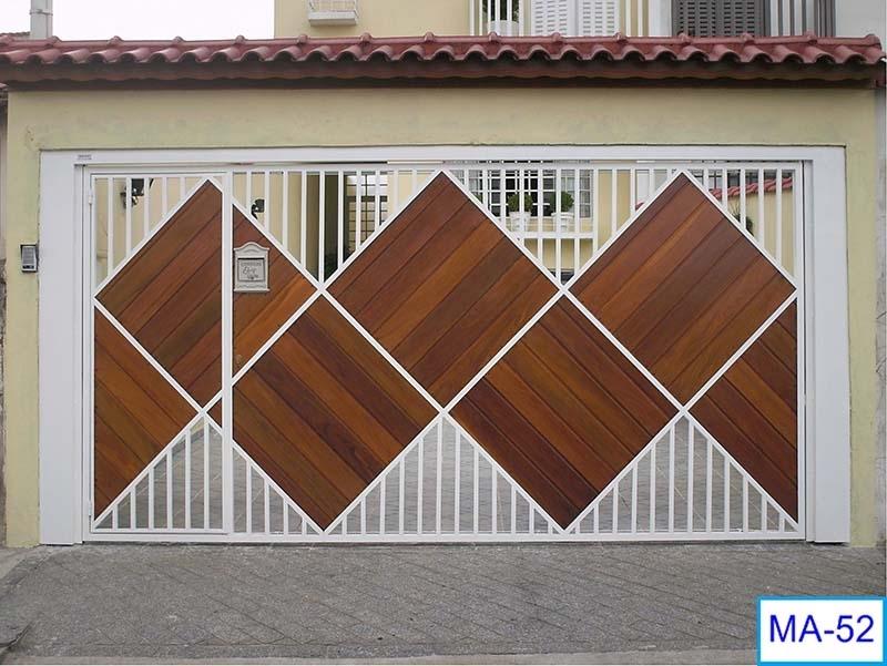 Portão de Garagem Automático Itapecerica da Serra - Portão de Alumínio Automático