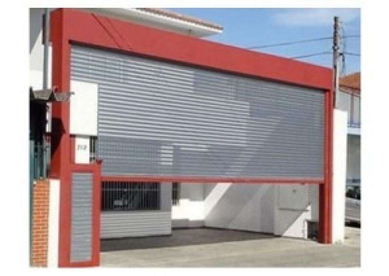 Portas de Aço de Enrolar Manual Zona Sul - Porta de Enrolar Alumínio