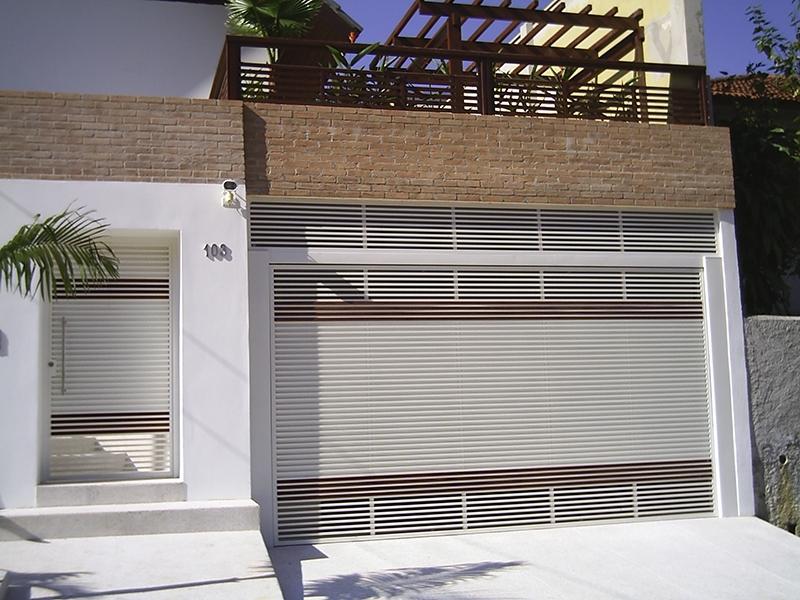 Portões Automáticos Basculantes Brás - Portão de Alumínio Automático