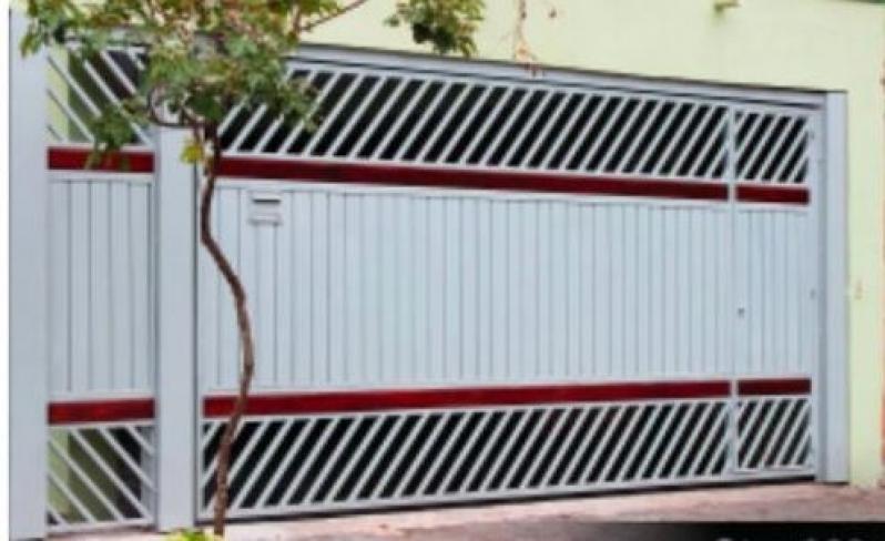 Portões Automáticos Itapecerica da Serra - Portão de Alumínio Basculante Automático