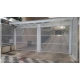 conserto de portão para condomínio branco Grajau