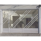 cotação de portão de grade para garagem Santa Cecília