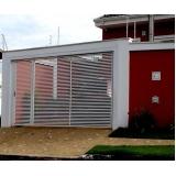 empresa de portão aço galvanizado Jabaquara