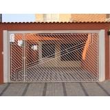 empresa de portão basculante com social Campo Grande