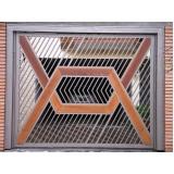 empresa de portão de aço galvanizado Suzano