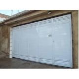 empresa de portão de garagem alumínio branco Jundiaí