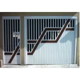 empresa de portão de garagem basculante Chácara Santo Antônio