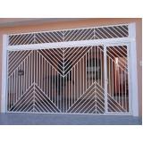 empresa de portão de garagem galvanizado Santo André