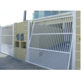 empresa de portão de grade para garagem Roosevelt (CBTU)