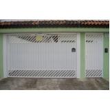 empresa de portão galvanizado branco Sacomã