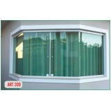 fornecedor de janela vidro temperado Av. Paulista
