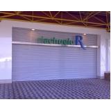 fornecedor de porta de comércio de enrolar Campo Limpo