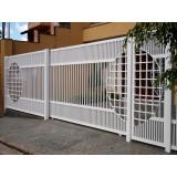 fornecedor de portão de ferro de correr Real Parque