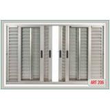instalação de janela alumínio Biritiba Mirim