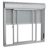 instalação de janela de alumínio com persiana Zona Sul