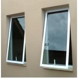 instalação de janela em alumínio branco Água Funda