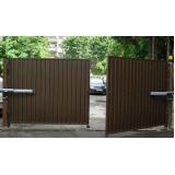 instalação de portão eletrônico duas folhas Nova Piraju