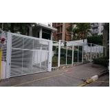 instalação de portão eletrônico para condomínio Vila Nova Conceição