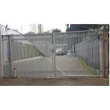 instalação de portão pivotante condomínio Pari