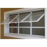janela basculante de vidro valores Pedreira