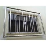 janela de alumínio com grade preço Mairiporã