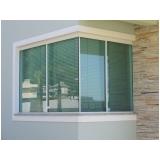 janela de alumínio com vidro valores Mauá