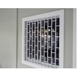 janela de vidro com grade valores Parque Dom Pedro