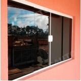janela de vidro fumê valores Cidade Dutra