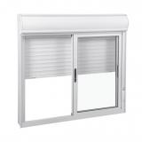 janela em alumínio branco Fazenda Morumbi