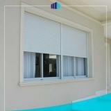 janelas de alumínio com persiana Saúde
