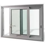 janelas de alumínio duas folhas Rua Apeninos