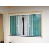 janelas de quarto de alumínio Vila Santa Catarina