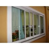 janelas de vidro e alumínio Glicério
