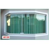 janelas em alumínio branco Vila Olímpia