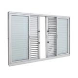 janelas para quarto de alumínio Jardim Marajoara