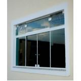 janelas vidro temperado Pedreira
