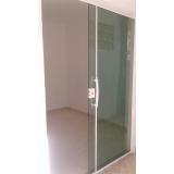 loja de porta de alumínio com vidro Cidade Monções