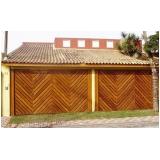 manutenção de portão eletrônico de madeira Centro de São Paulo