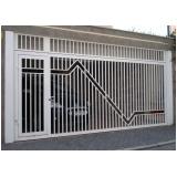 orçamento de portão aço galvanizado Jabaquara