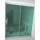 porta de alumínio com vidro Conceição