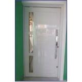 porta de alumínio Santa Cecília