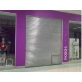 porta de loja de enrolar Vila Clementino