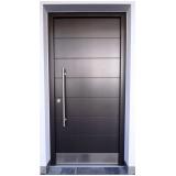 porta pivotante de alumínio valores Largo do Arouche