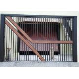 portão de aço galvanizado sob medida Santana de Parnaíba