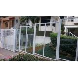 portão de alumínio com vidro Mairiporã