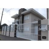portão de alumínio garagem preço Vila Independência