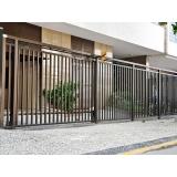 portão de correr galvanizado sob medida Vila Nova Conceição